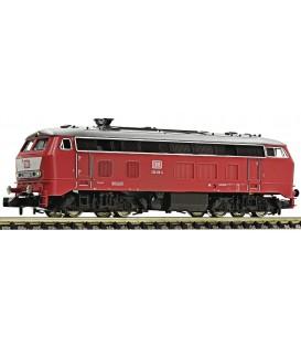 Locomotora diésel BR 218 de la DB. Ref: 724001. FLEISCHMANN. N