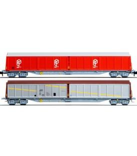 Set de 2 vagones Habiss Paquexpres ORE Renfe escala N