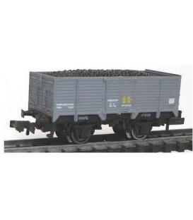 Vagón abierto borde alto Gris (R.N) Escala N