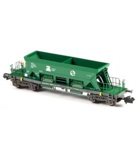 Tolva abierta TTM Cargas RENFE Verde . Ref: N34704. MFTRAIN. N