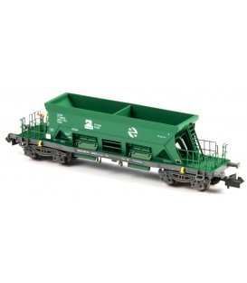 Tolva abierta TTM Cargas RENFE Verde . Ref: N34703. MFTRAIN. N