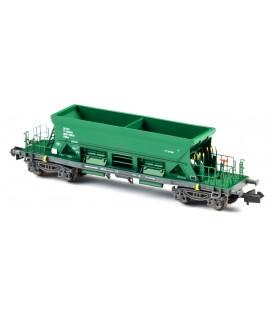 Tolva abierta TTM sin logos RENFE Verde . Ref: N34701. MFTRAIN. N