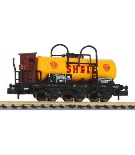 Vagón Cisterna SHELL de la DRG Ep. II Ref: L265116. LILIPUT. N
