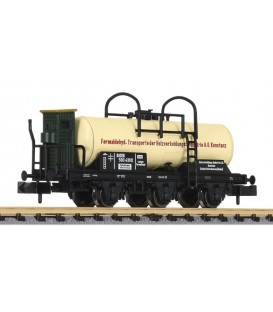 "Vagón Cisterna ""Holzverkohlungs-Industrie A.G"" de la BadSTB Ep. I Ref: L265486. LILIPUT. N"
