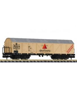 "Vagón 4 ejes  Frigorifico  ""Apollinaris"" de la DB  Ep. IV Ref: L265657. LILIPUT. N"