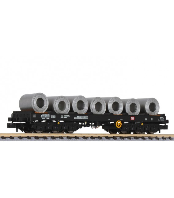 "Vagón 6 ejes  Bobinero Tipo: Sahms 711"" de la DB  Ep. IV Ref: L265769 LILIPUT. N"
