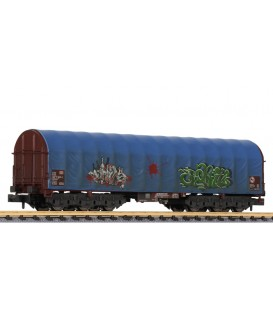 """Vagón 6 ejes  Bobinero Tipo: Sahimms-u 901"""" de la DB  Ep. V Ref: L265779 LILIPUT. N"""