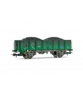 Vagón abierto Cargas RENFE. Ref: E1260. ELECTROTREN, H0
