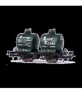 "Vagón Cisterna ""Bicuba"" FOUDRES SAINZ ROZAS (RENFE)"