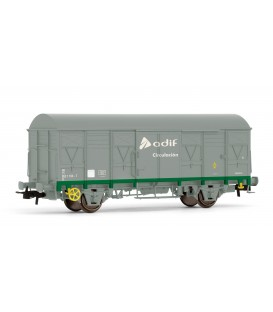 """Vagón cerrado ORE-1 """"ADIF circulación"""". Ref: E1836. ELECTROTREN. H0"""