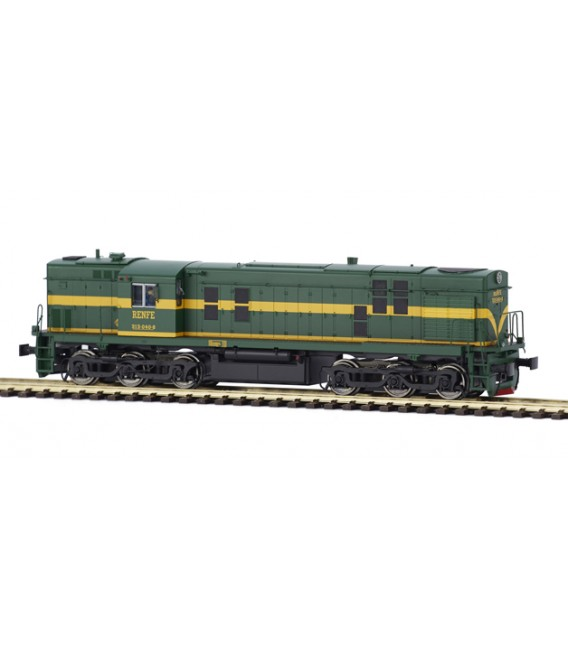"Locomotora diesel 308-017 de RENFE, ""Ye-Ye"". Ref: 81500. MABAR. H0"
