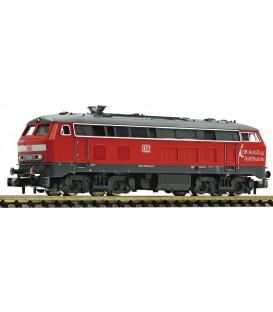 """Diesel locomotive class 218 """"SyltShuttle"""", DB AG / DB AutoZug Ref: 723611 FLEISCHMANN. N"""