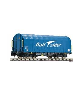 """Vagón Puertas correderas """"RAIL SIDER"""".  Ref: 837925. FLEISCHMANN. N"""