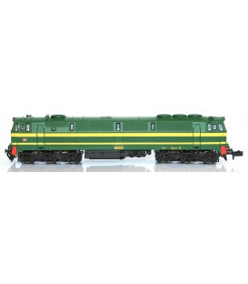 "Locomotora 3000 RENFE  ""Rambo"" Verde -Amarillo - 333.037.0. Ref: N13301. MF TRAIN. N"