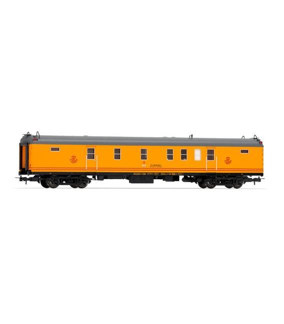 Coche Correos de 4 ejes , Version Amarilla Estandar. Ref: E5232