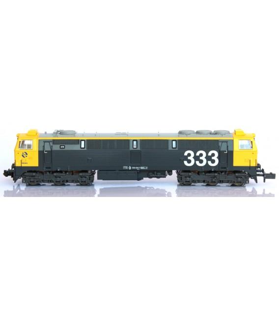 "Locomotora 3000 RENFE  Semireformada ""Taxi"" - 333.005.7. Ref: N13304. MF TRAIN. N"