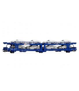 Vagón Portacoches TRANSFESA . Ref: E6534. ELECTROTREN. H0