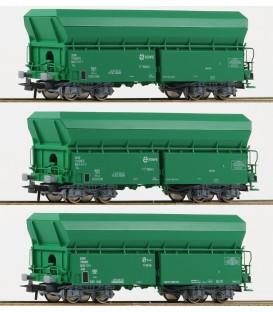 set de 3 Vagónes  RENFE Ref: 67080. ROCO. H0