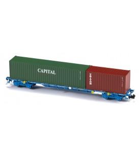 Porta contenedores Sgnss / MMC3E Renfe   Ref: N33403. MFTRAIN. N