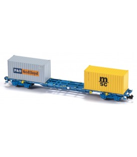 Porta contenedores Sgnss / MMC3E Renfe Mercancías   Ref: N33404. MFTRAIN. N