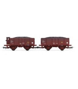 Conjunto de vagones - Serie X unificados de RN, Envejecidos Ref:E19011