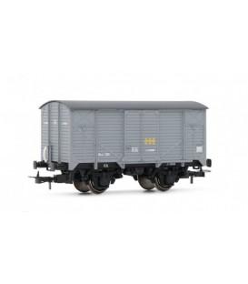 Vagón cerrado unificado de RENFE, RN.  Ref:E19016