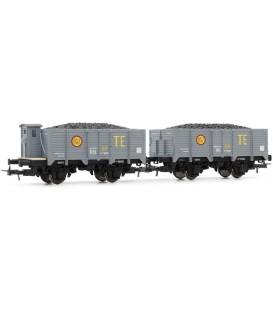 Set de 2 vagones - Serie X unificados de RENFE-, TE Ref:E19020