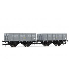 Set de 2 vagones - unificados RN Ref: E19022