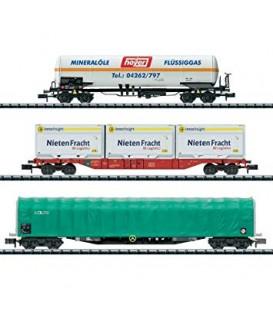 Set de 3 vagones Ref: 15303. MINITRIX. N