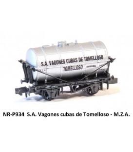 """Vagón Cuba """"CUBAS DE TOMELLOSO"""" PECO P934 Escala N"""