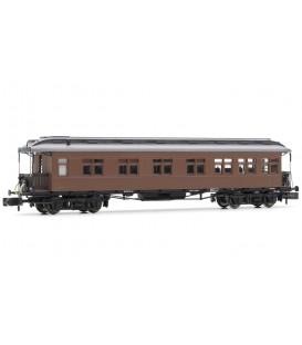 Coche Costa mixto 2ª/3ª clase, RENFE BBC-2536, techo con linternón Ref: HN4224. ARNOLD. N