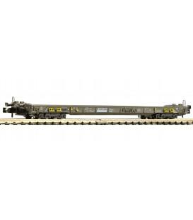 Vagón de plataforma baja de 8 ejes para camiones, trailers y remolques, RAlpin AG Ref: 827007 FLEISCHMANN. N