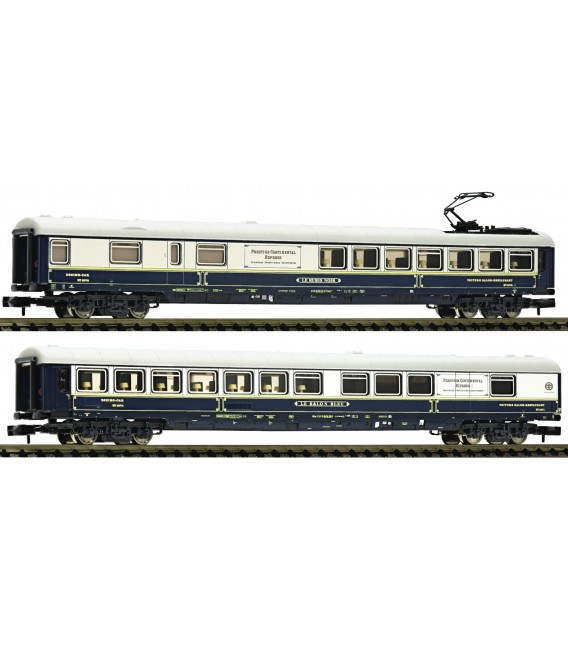 Set de dos coches salón, en privado (Suiza) Ref: 816203. FLEISCHMANN. N