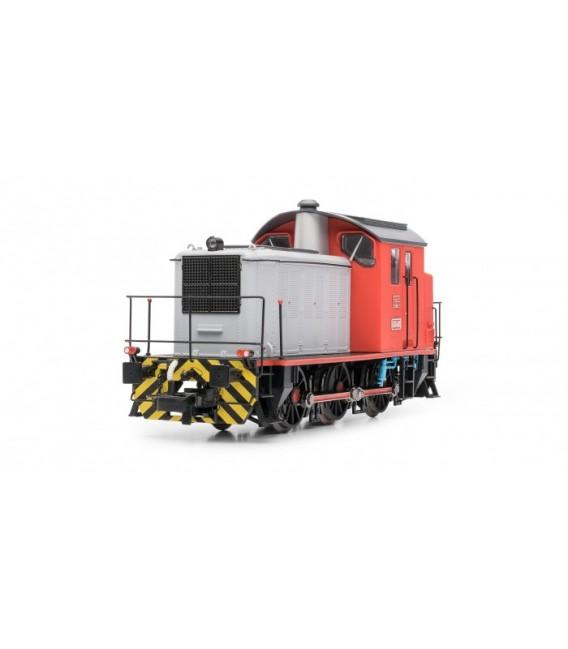 Locomotora diésel RENFE 303.049 (rojo y gris). Ref: E3810. ELECTROTREN. H0