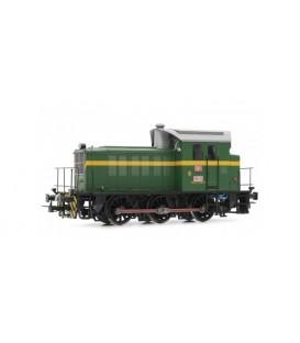 Locomotora diésel RENFE 303.035 (Verde). Ref: E3810. ELECTROTREN. H0