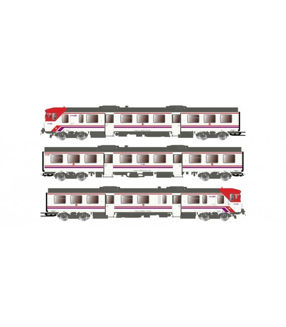 Automotor Diesel 592 Ref: E3420D. ELECTROTREN. H0