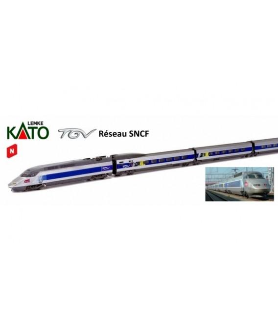 "Set TGV ""Reseau"" SNCF Ref: 10924. KATO. N"