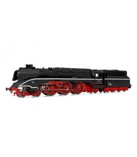 Locomotora de vapor 18 201 en versión negra, con tender de fuel, ep. III-IV DR. ARNOLD. N