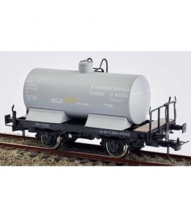 Vagón cisterna con balconcillo. M. Rodríguez Santalla. Gris claro. PR-14703 Ref: 0712-M. K*TRAIN. H0