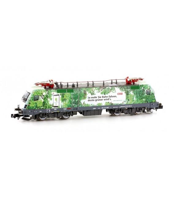 Locomotora eléctrica 1016 023 (Taurus) de ÖBB, Epoca: VI ref: H2781. HOBBYTRAIN. N