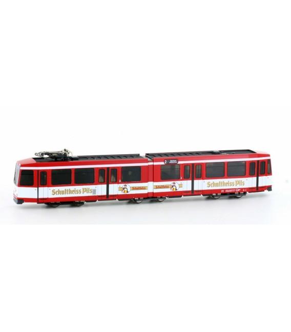 "Tranvía tipo M6 BOGESTRA Versión ""Schultheiss Pils"", Epoche IV - V Ref: H14904 HOBBYTRAIN. N"