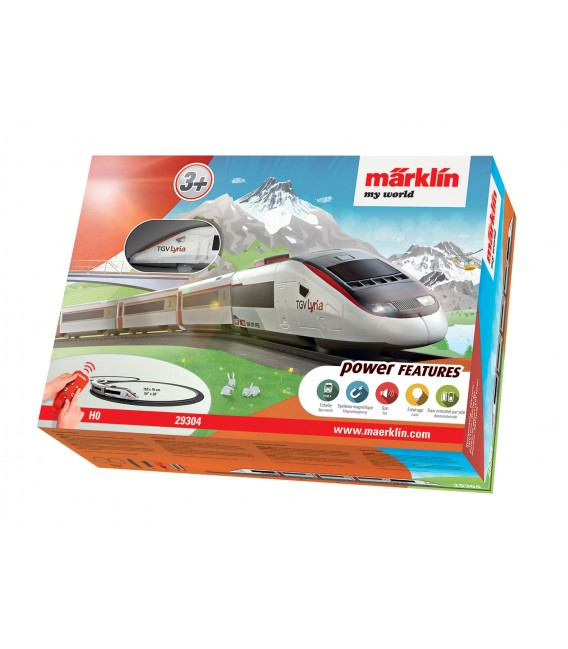 Set de inicio TGV Lyria. MY WORLD. Ref: 29304. MARKLIN. H0