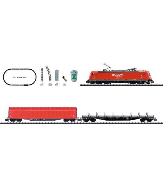 "Set Iniciación Digital ""Tren de Mercancias"" Minitrix, Ref: 11145. Escala N"