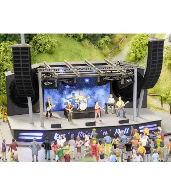 Micro-Motion Rock-Festival ESCALA H0. NOCH. Ref: 66823