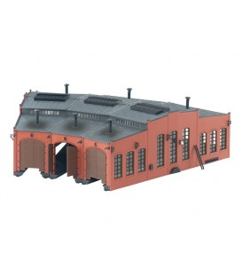 Edificio Rotonda para Locomotoras Märkli. H0 Ref: 72884