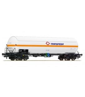 """Vagón Cisterna,  RENFE """"TRANSFESA""""Ref: 76974. ROCO. H0"""