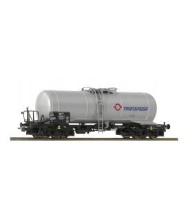 """Vagón Cisterna,  RENFE """"TRANSFESA""""Ref: 76719. ROCO. H0"""