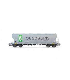Vagón tolva SESOSTRIS. Ref: E6538. ELECTROTREN. H0