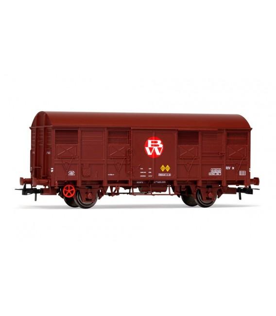"""Vagón  Cerrado ORE 2 ejes """"Babcock & Wilcox""""  Ref:E19047"""