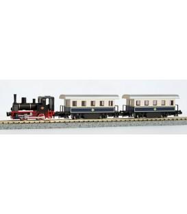 Tren completo (Locomotora + 2 coches) KATO Esc. N Ref: 10-500-2